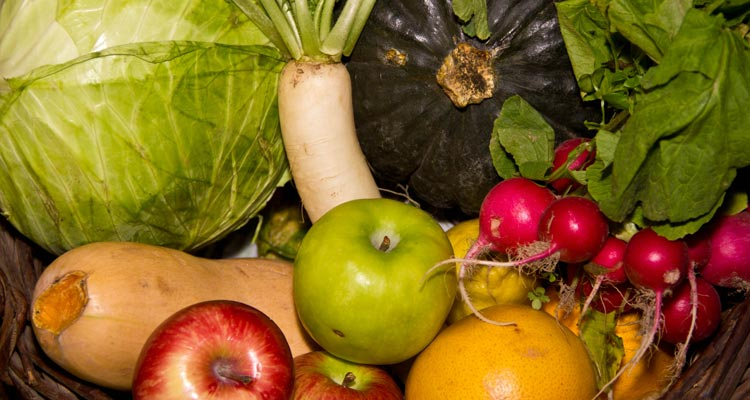frutas y verduras orgánicas la buena cosecha