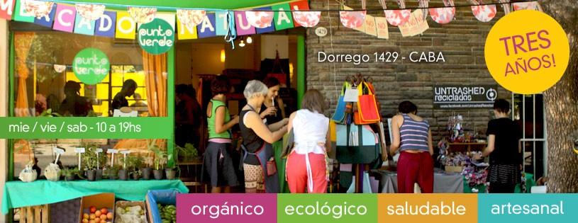 Punto Verde Mercado Natural cumple 3 años