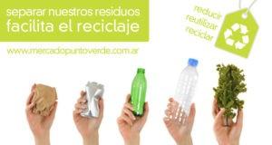 separar nuestros residuos facilita el reciclaje