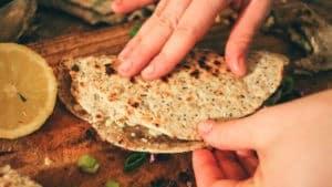 Pan indio plano chapati